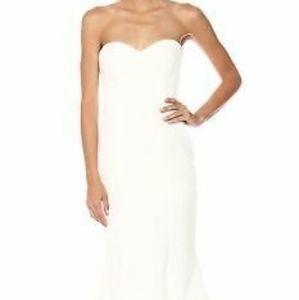 Nicole Miller Strapless Wedding Gown